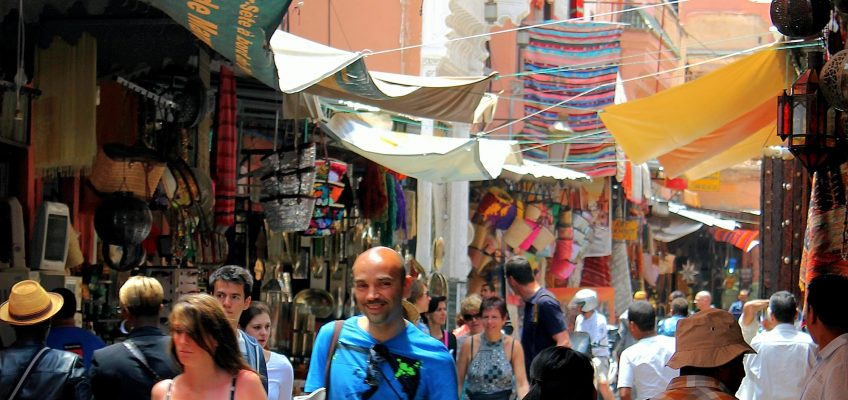 Come and experience the busy lifestyle of the Moroccans in these souks.